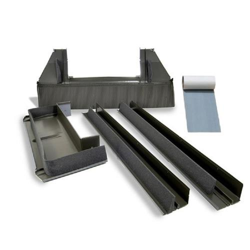 VELUX Deck Mount Tile Roof Aluminum Flashing Kit for Skylights