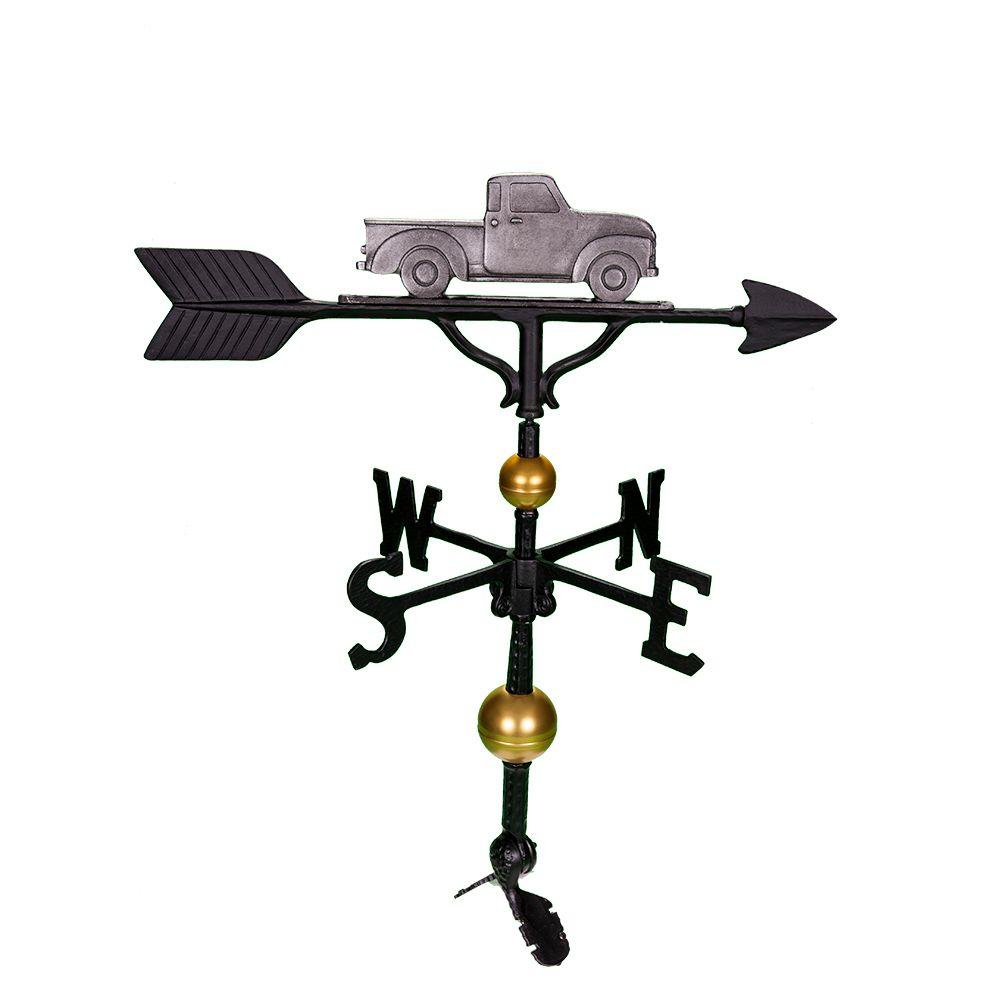 32 in. Deluxe Swedish Iron Classic Truck Weathervane