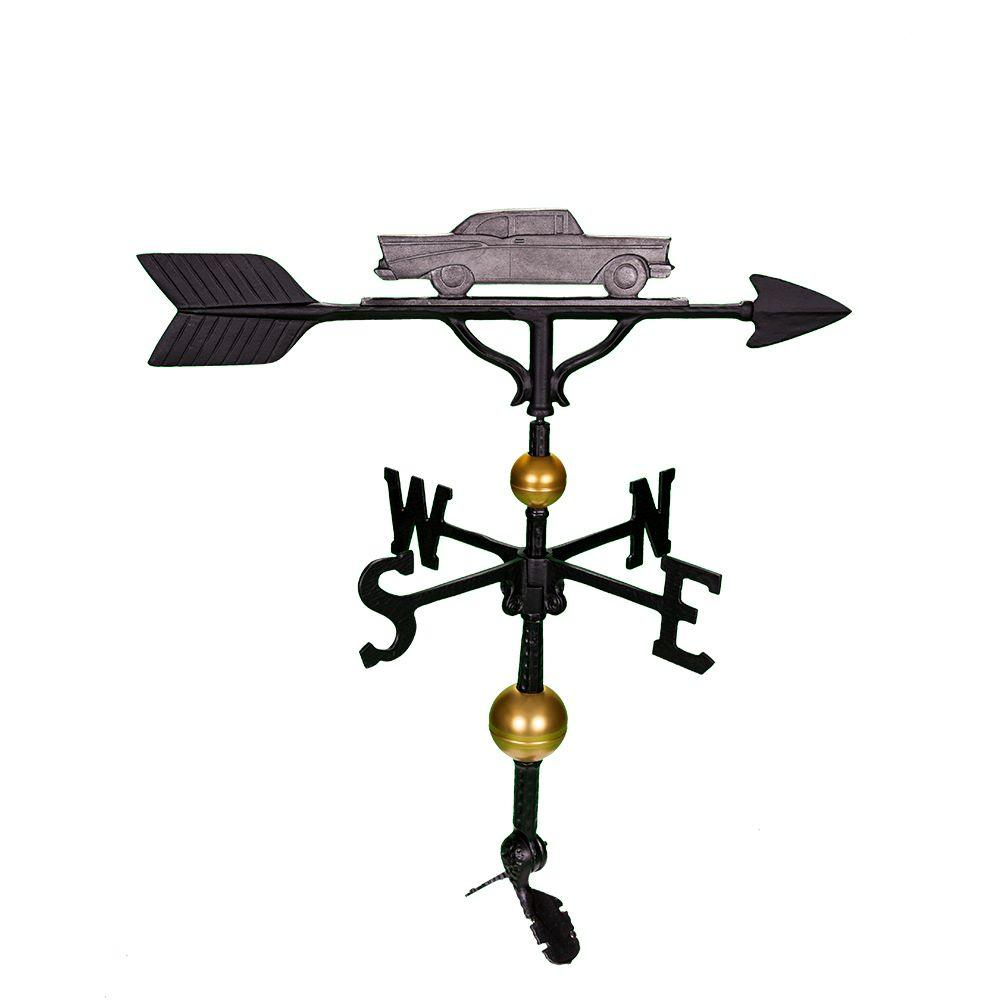 32 in. Deluxe Swedish Iron Classic Car Weathervane