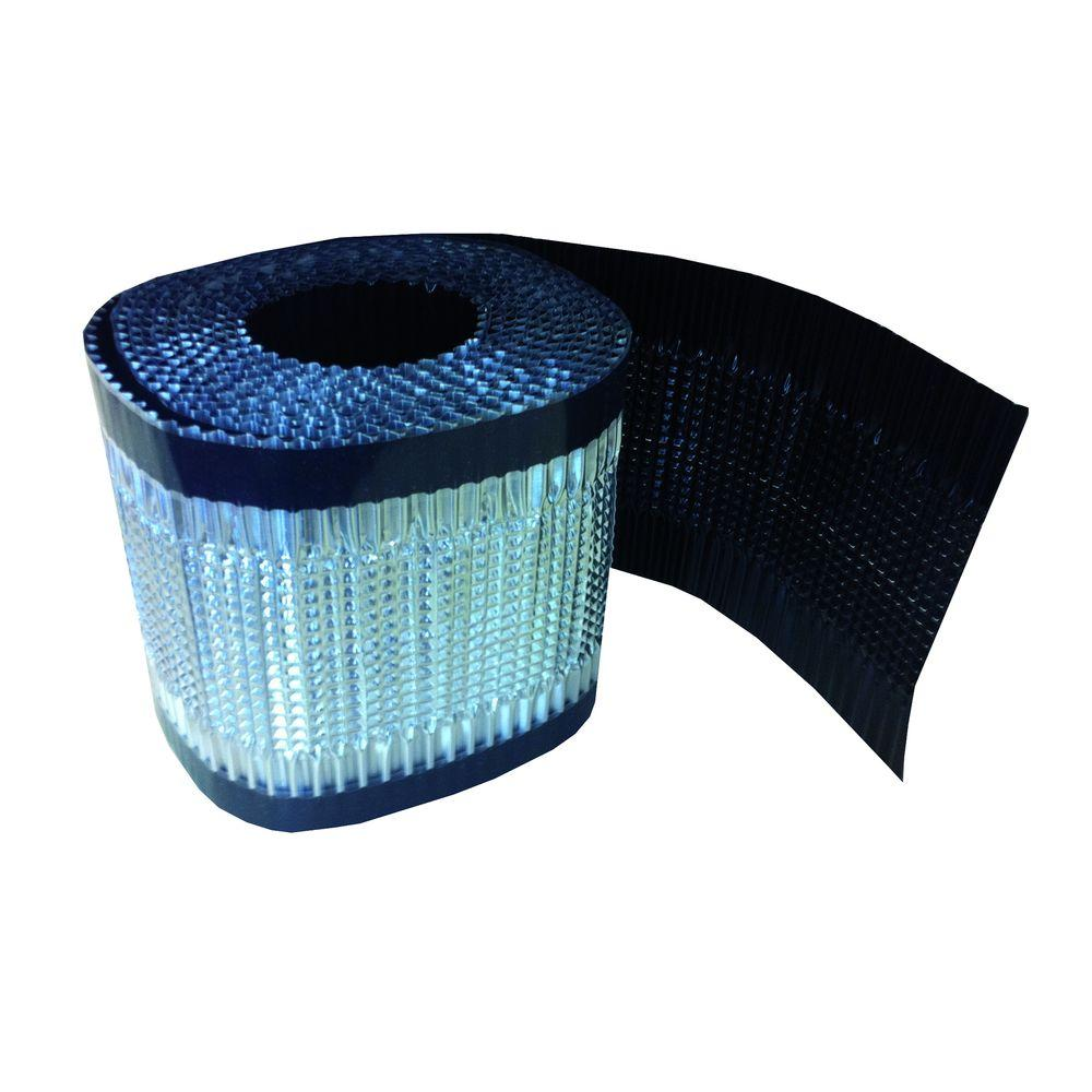 6 in. x 16 ft. Ondulair Slim Black Flashing Tape