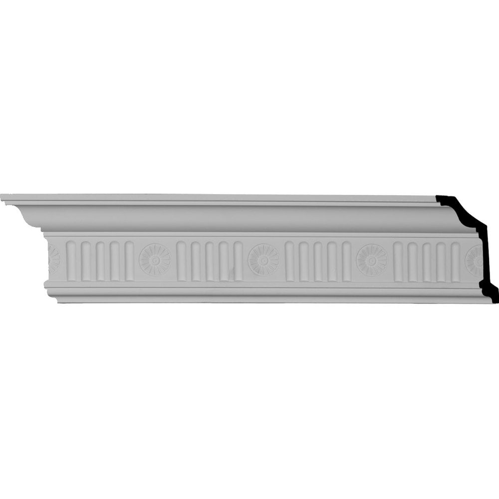 Ekena Millwork Polyurethane Crown Moldings/Edwards Crown Molding 4 3/4' Repeat / 4'H x 2 7/8'P x 5'F x 96'