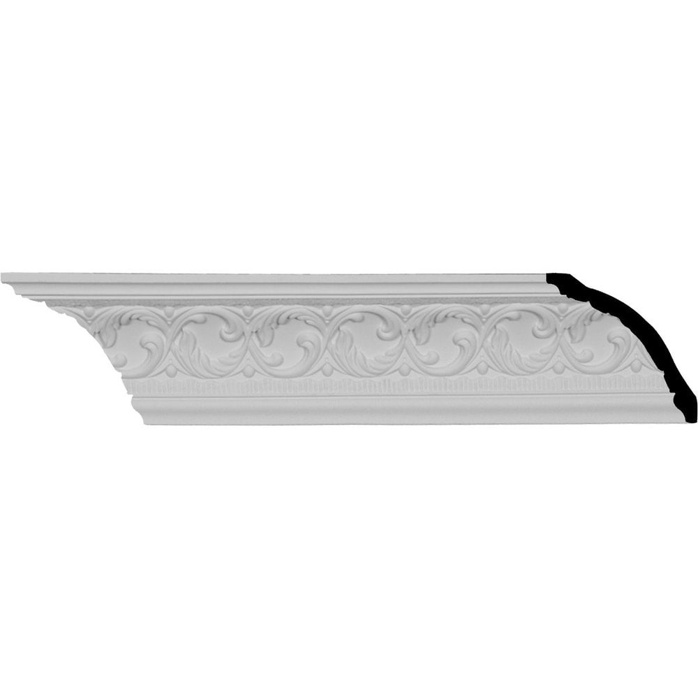 Ekena Millwork Polyurethane Crown Moldings/Richmond Crown Molding 5' Repeat / 4 1/8'H x 3 3/4'P x 5 3/8'F x 95 7/8'