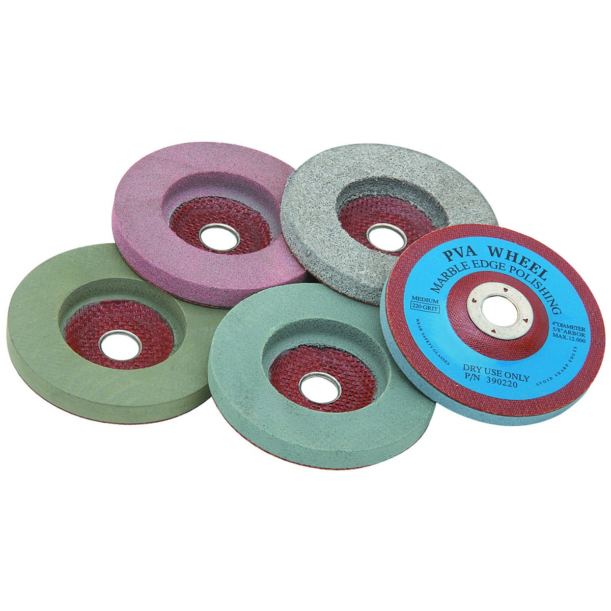 4 in. Polishing Wheel Set 5 Pc