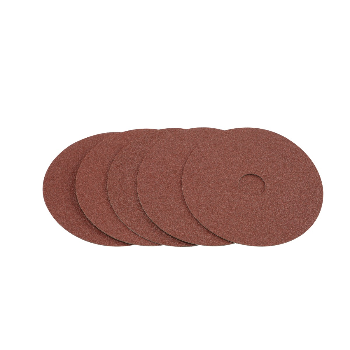 4-1/2 in. 80 Grit Resin Fiber Sanding Discs 5 Pc
