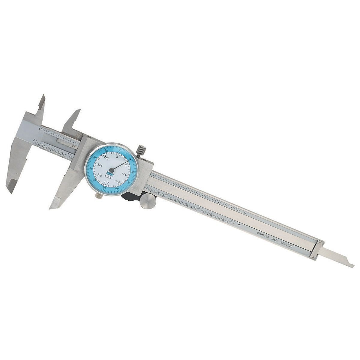 6 In. Fractional Dial Caliper